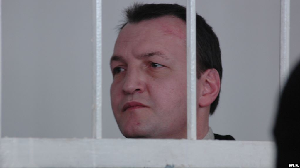 Aziz Batukayev seen in court. (Photo: RFE/RL)