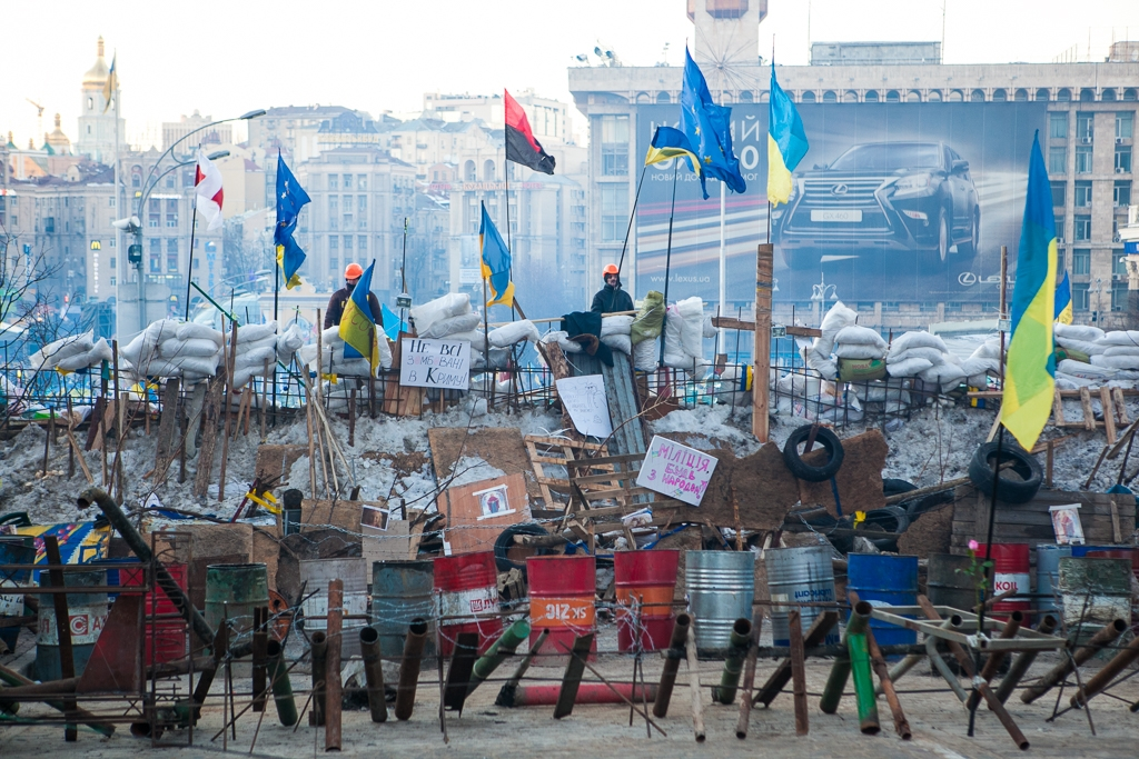The 2013 Euromaidan protests in Kyiv. (Photo: David Trilling)