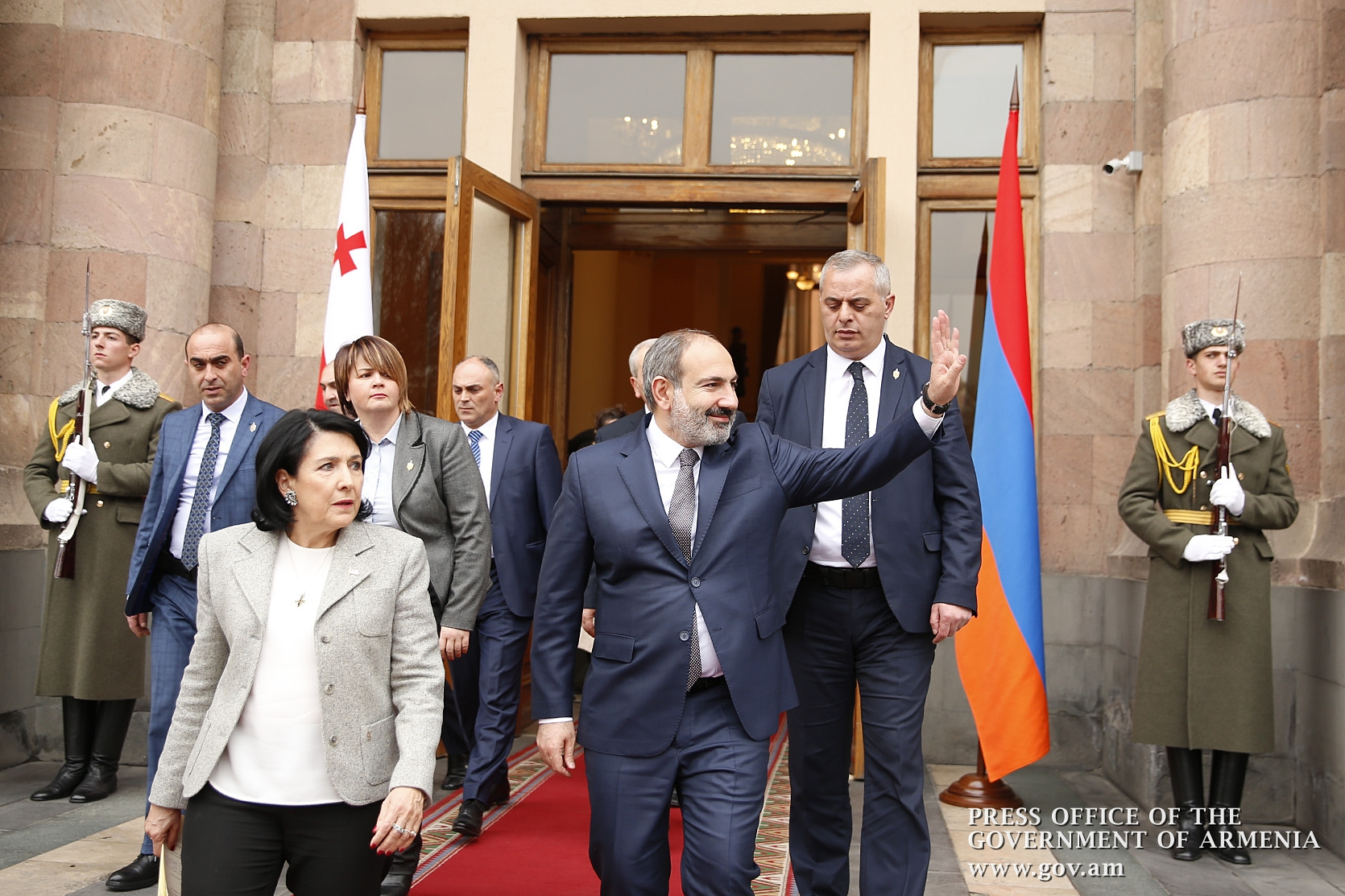 Zourabichvili and Pashinyan