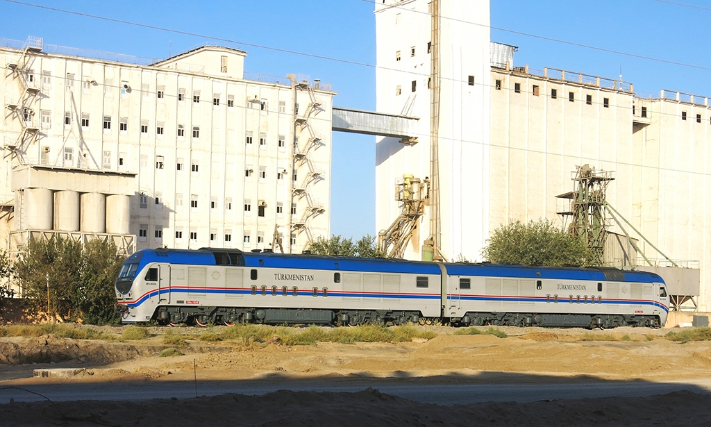 Train in Ashgabat