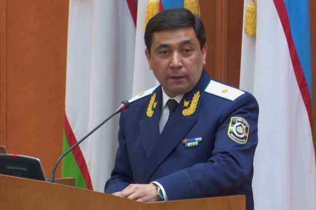 Out with the old, out with the new too: General Prosecutor Otabek Murodov. (Photo: Uzbekistan government website)