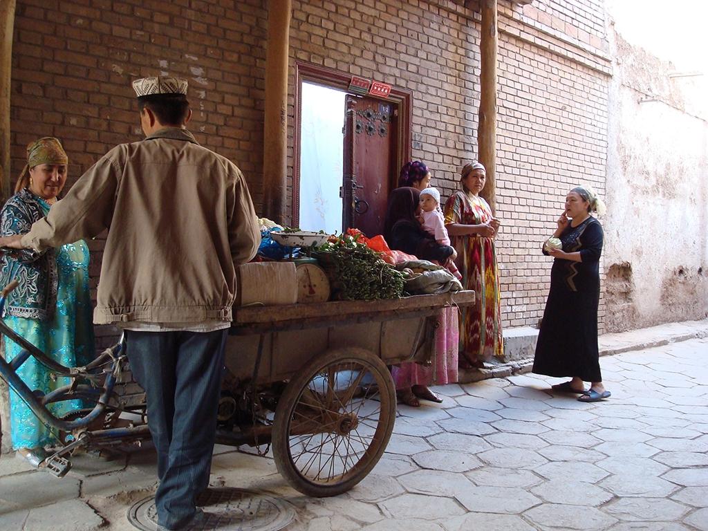 Old City, Kashgar, Xinjiang. (Joshua Kucera)