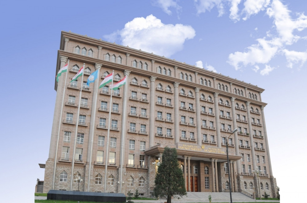 You shall not press pass!: Tajikistan's Foreign Ministry. (Photo: Tajik MFA)