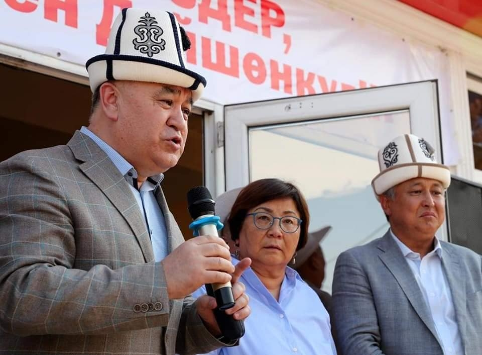 Omurbek Tekebayev and Duishonkul Chotonov were released from prison on August 29 (photo by Ata-Meken)