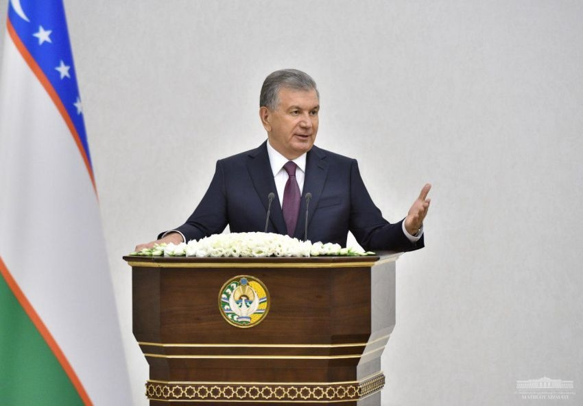 There's no listening to regions: Mirziyoyev wants to see regions do more to help drum up foreign investment. (Photo: Presidential administration)
