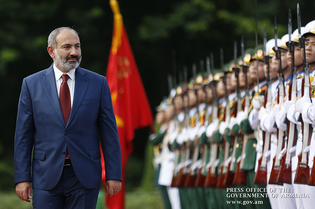 Pashinyan in Vietnam