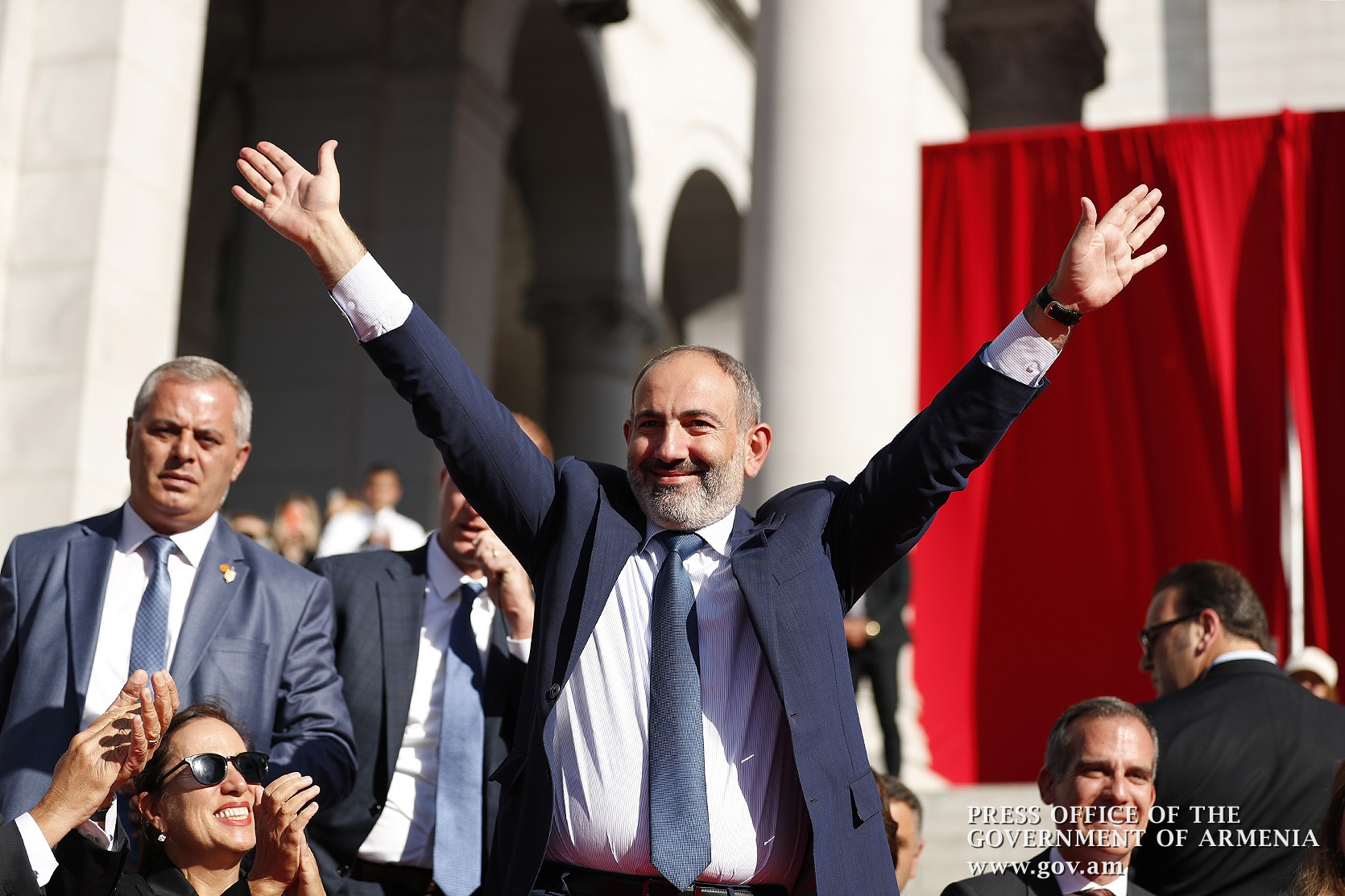Pashinyan in LA