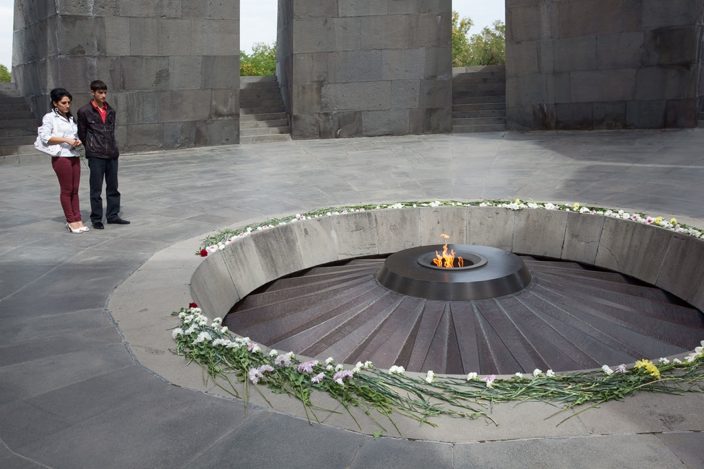 The genocide memorial in Yerevan (David Trilling)