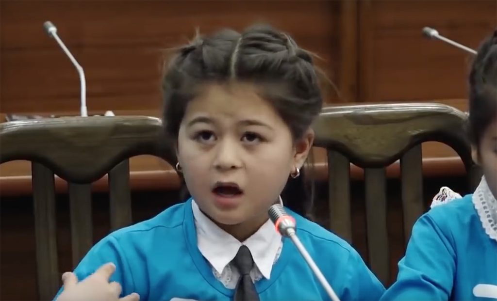 Out of the mouths of babes: The fifth-grader talking about problems at her school.