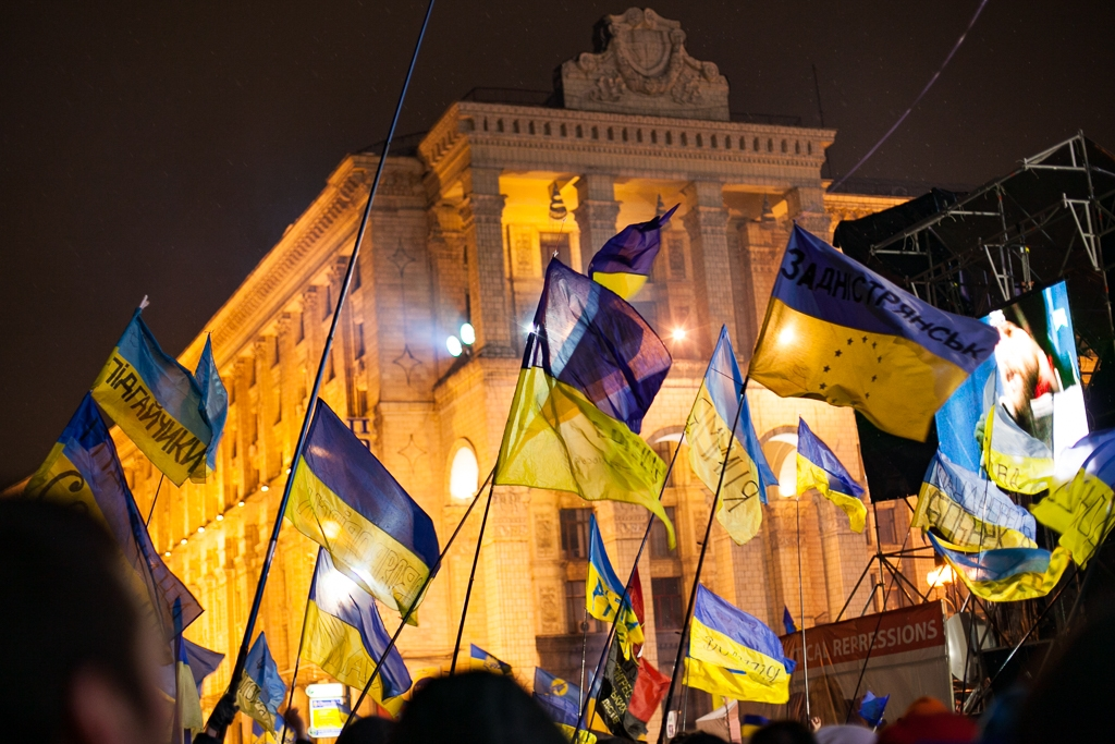 Like most revolutions, Euromaidan raised great expectations. (photo: David Trilling)