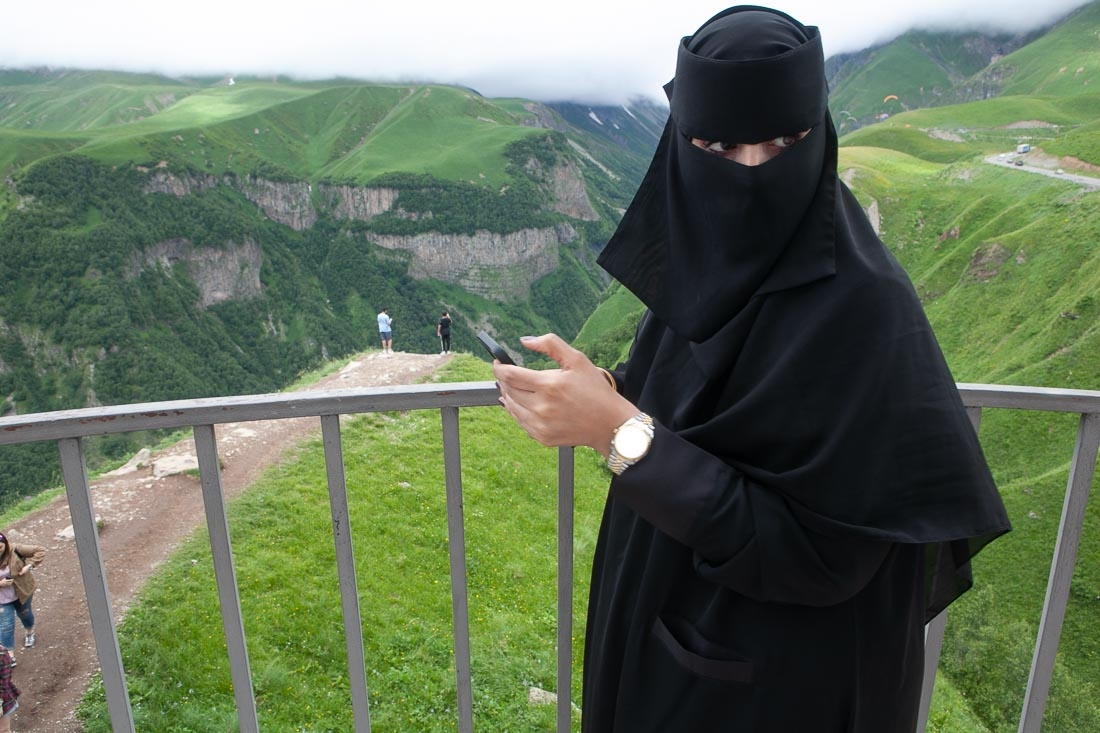 Arab woman in Georgia