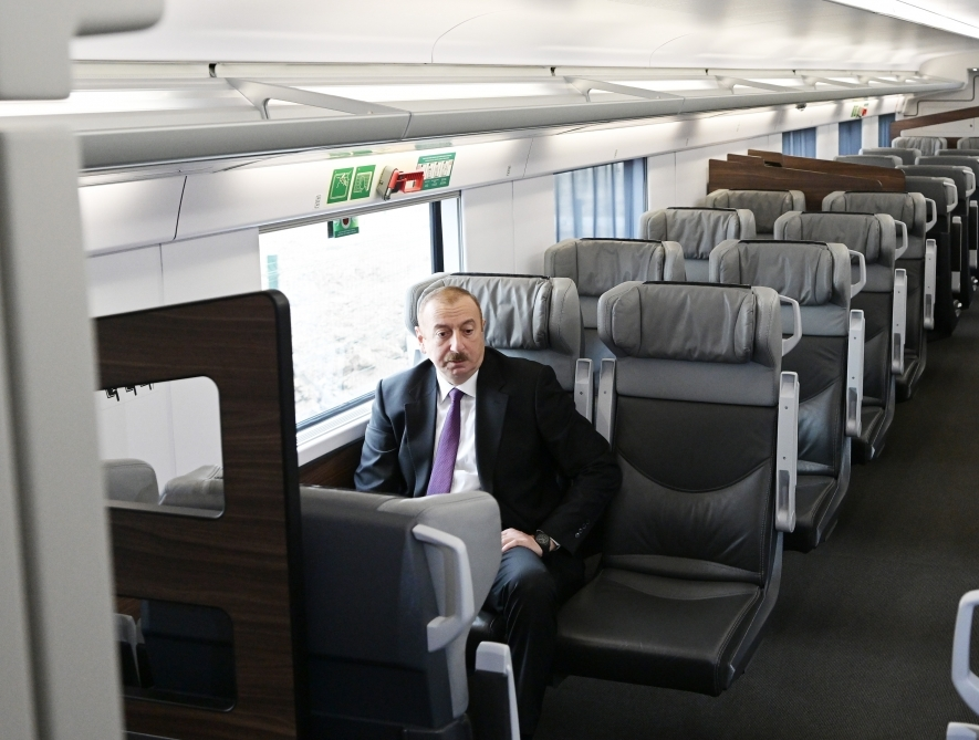 Aliyev train