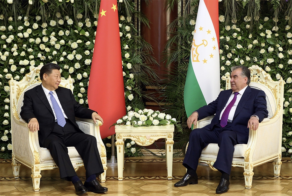 Xi's got Rahmon right where Xi wants him. (Tajik presidential administration)