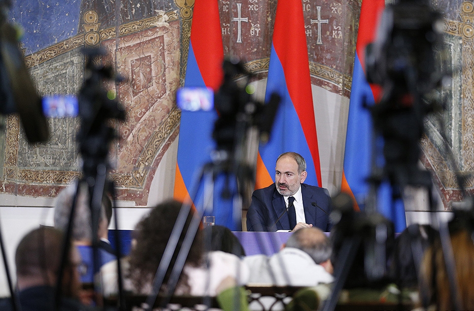 The Index was released amid a media controversy in Armenia, as senior executives at Armenian public television resigned after footage of President Nikol Pashinyan coughing spread on the Internet. (primeminister.am)