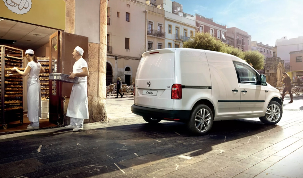 Your samsas are ready: The Caddy may soon be seen on Uzbek roads. (Photo: Volkswagen)