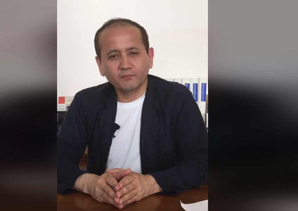 Seventh haven: Ablyazov delivering a Facebook Live talk on July 7.