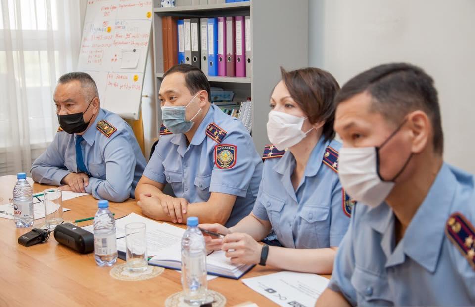 Fake news inspectors (MVD Kazakhstan)