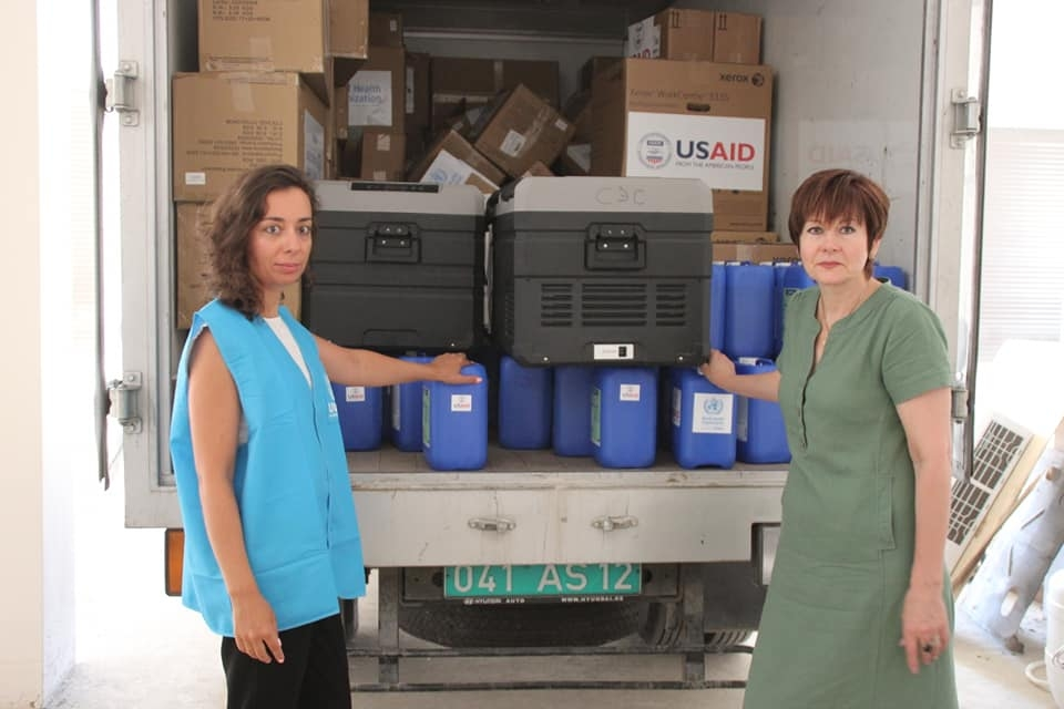 USAID/EU aid to Abkhazia
