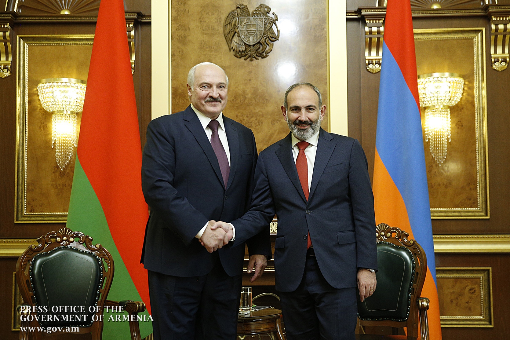 Lukashenko and Pashinyan
