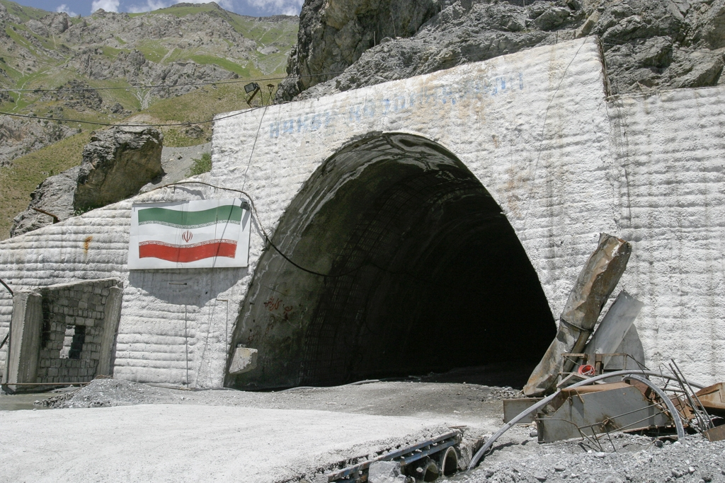Iran has invested $31 million in the tunnel that bypasses Tajikistan's Anzob pass. (Photo: David Trilling)