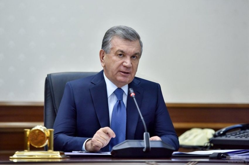 Just desserts: Mirziyoyev has made justice system reforms a nominal priority. (Photo: Presidential administration)