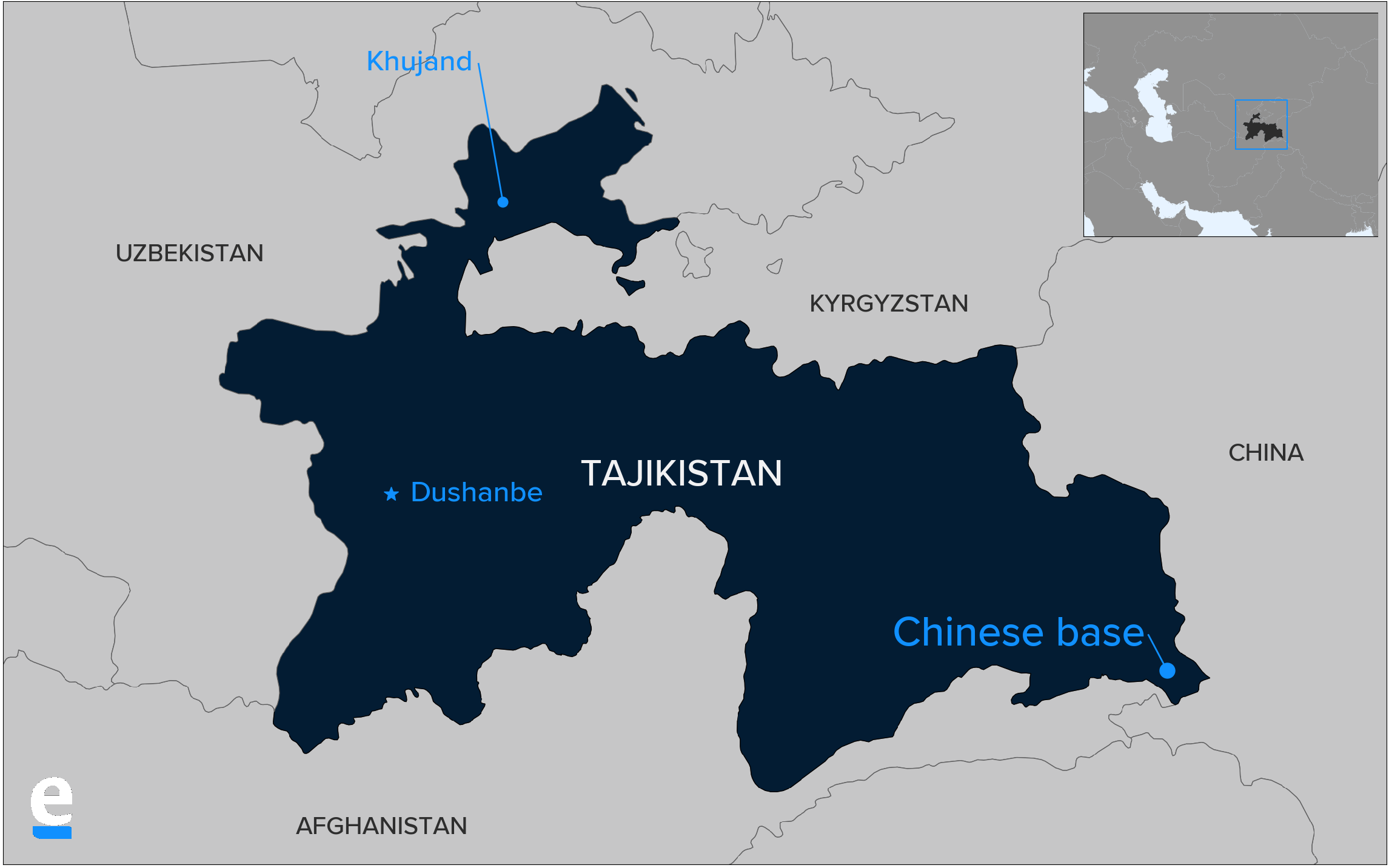 Reaching first base: Chinese presence in Tajikistan.