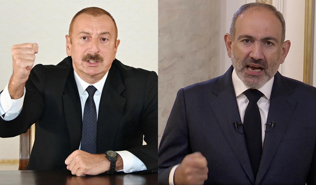 Aliyev and Pashinyan