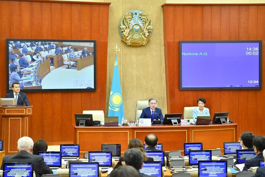 Kazakhstan's parliament: Where the rubber stamping happens. (Photo: Mazhilis website)
