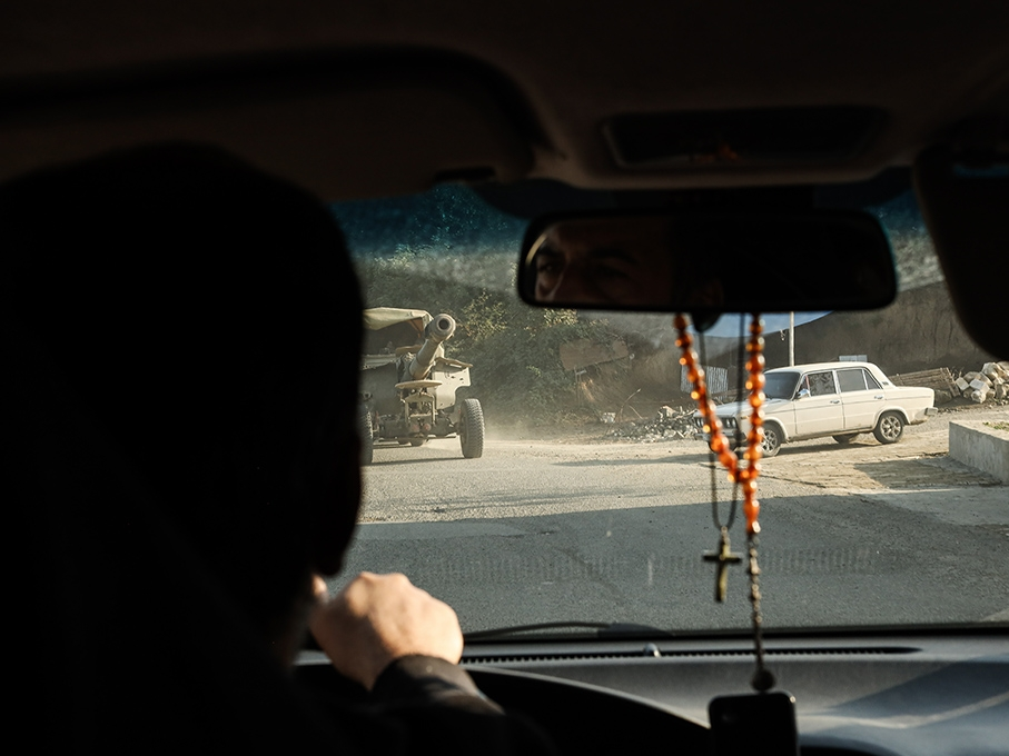 driving in Karabakh
