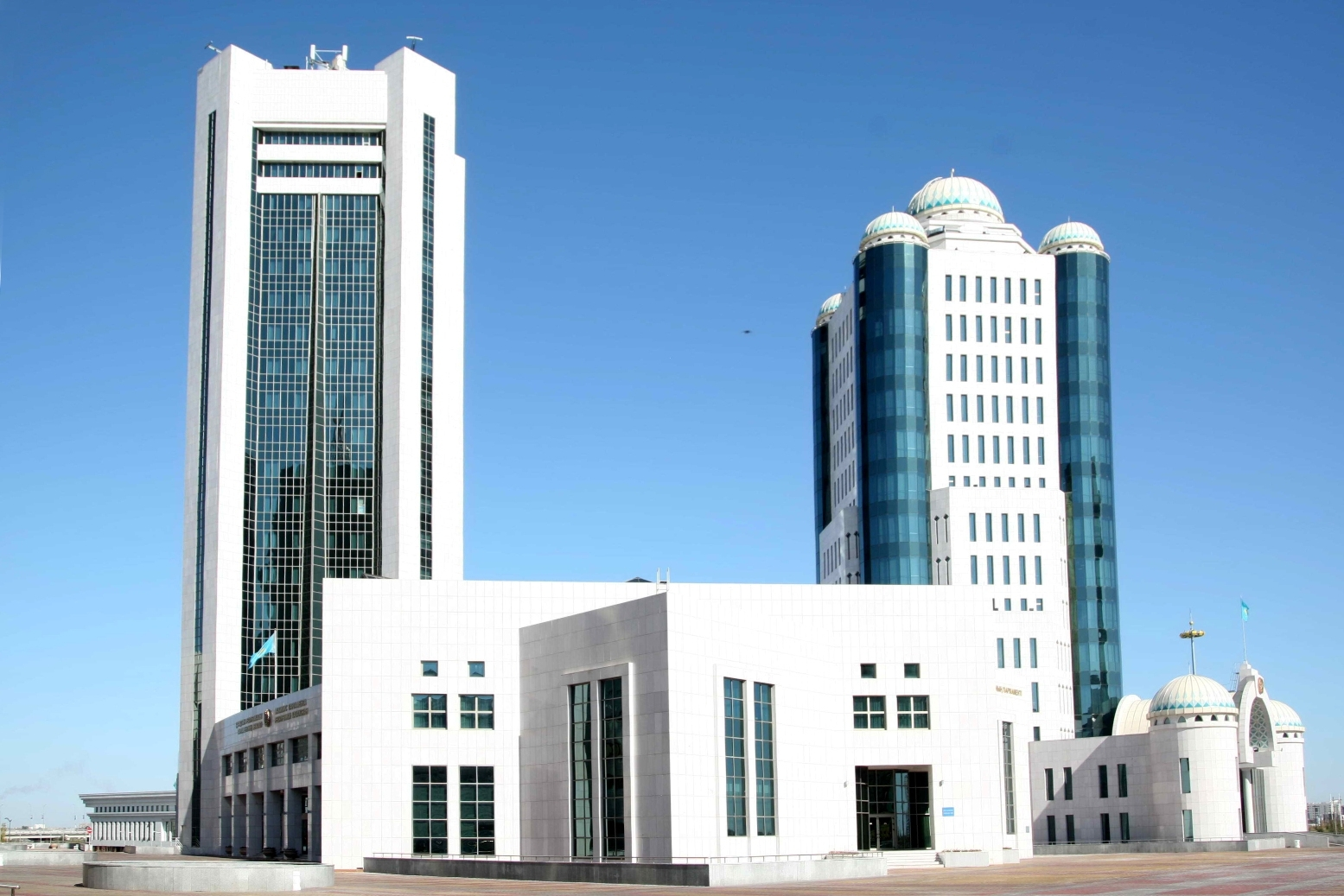 Kazakhstan's parliament in Nur-Sultan. (Photo: Parliament website)