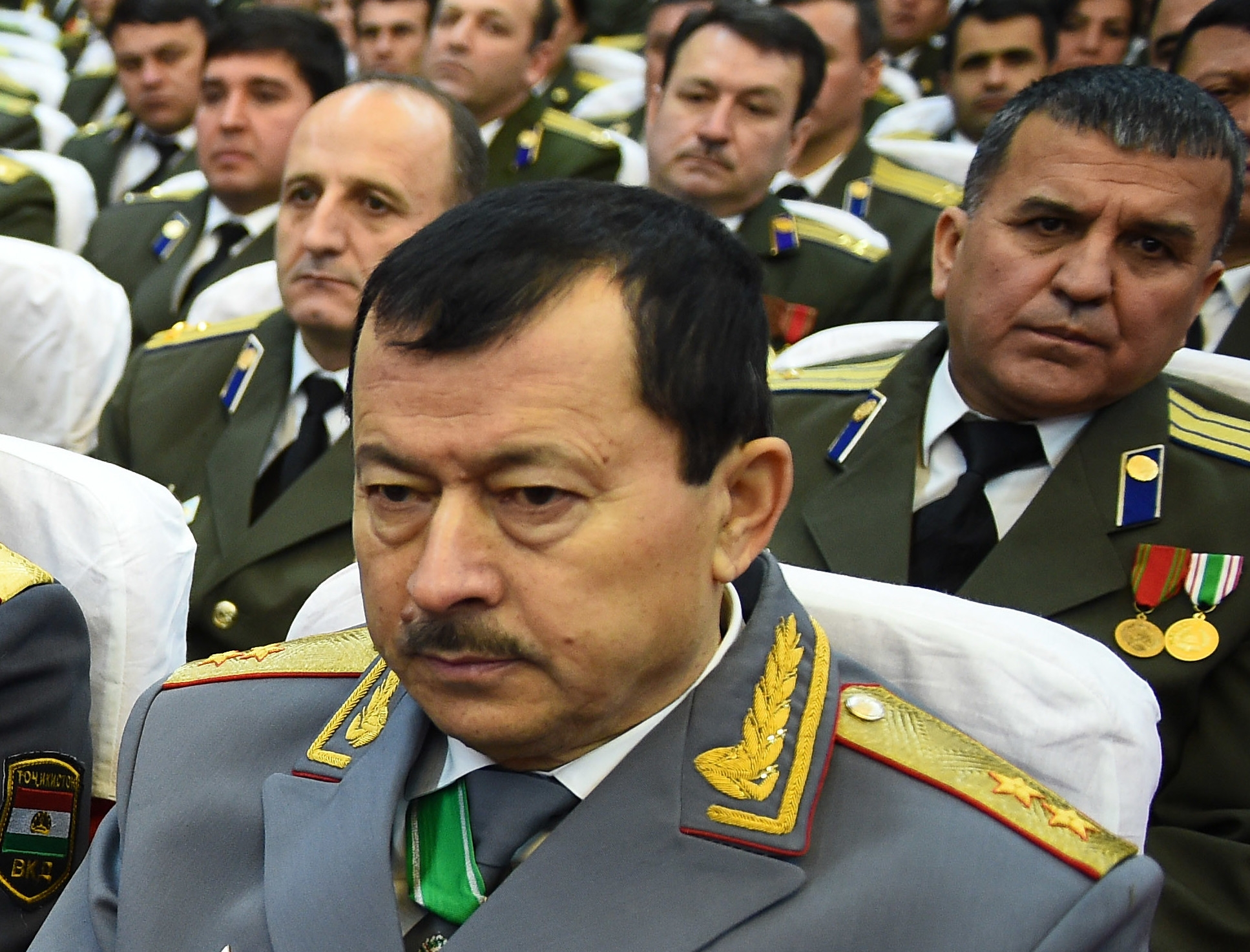 Yatimov, seen in 2017. (Photo: Presidential administration press service)