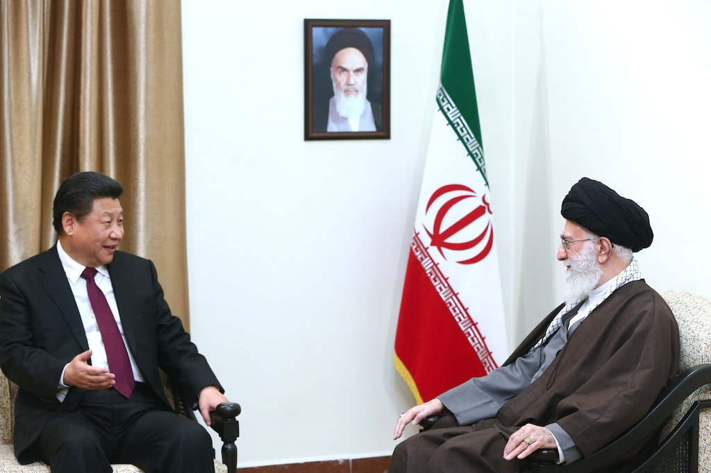 Xi and Khamenei