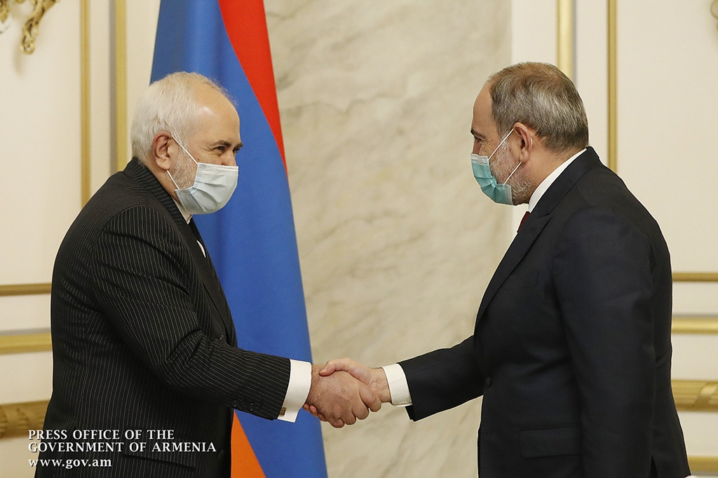 Zarif and Pashinyan