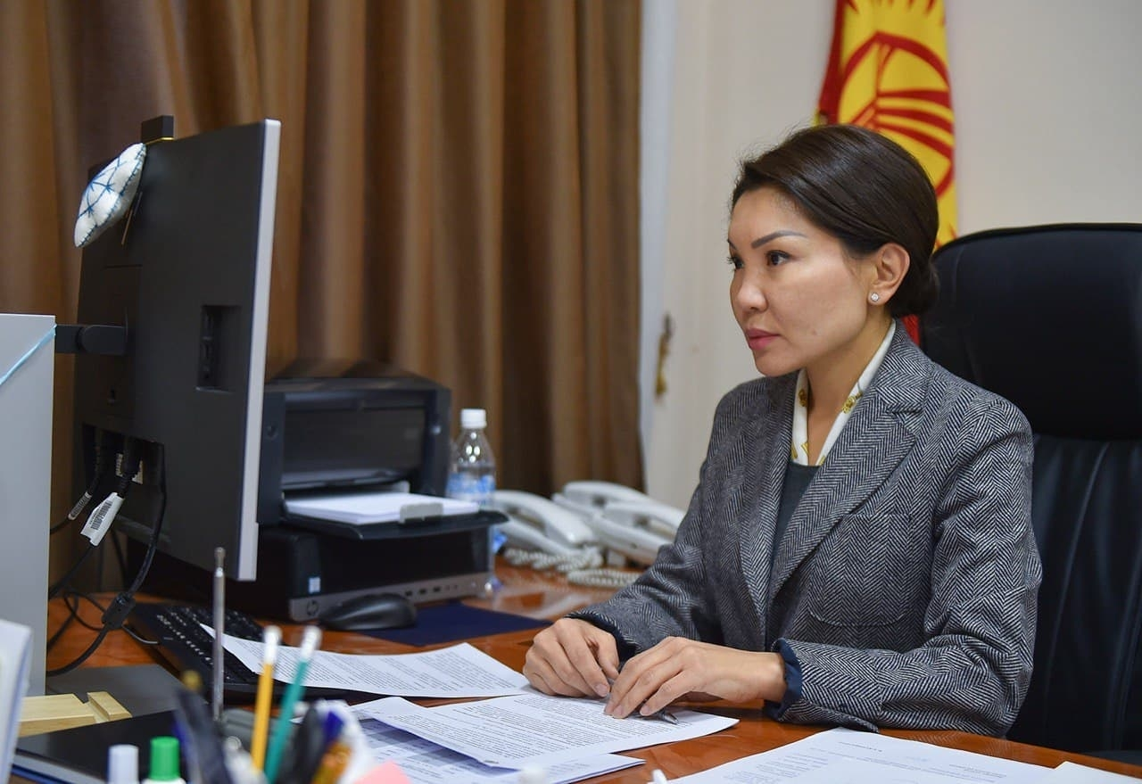 Deputy Prime Minister Elvira Surabaldiyeva. (Photo: Government handout)