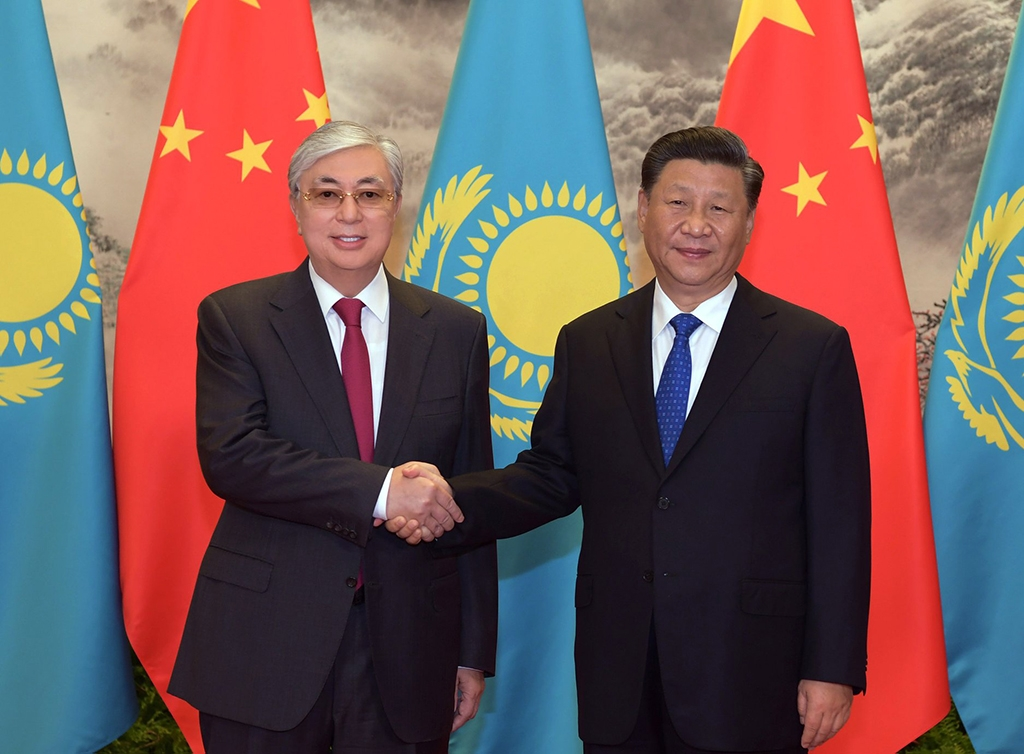 Tokayev and Xi