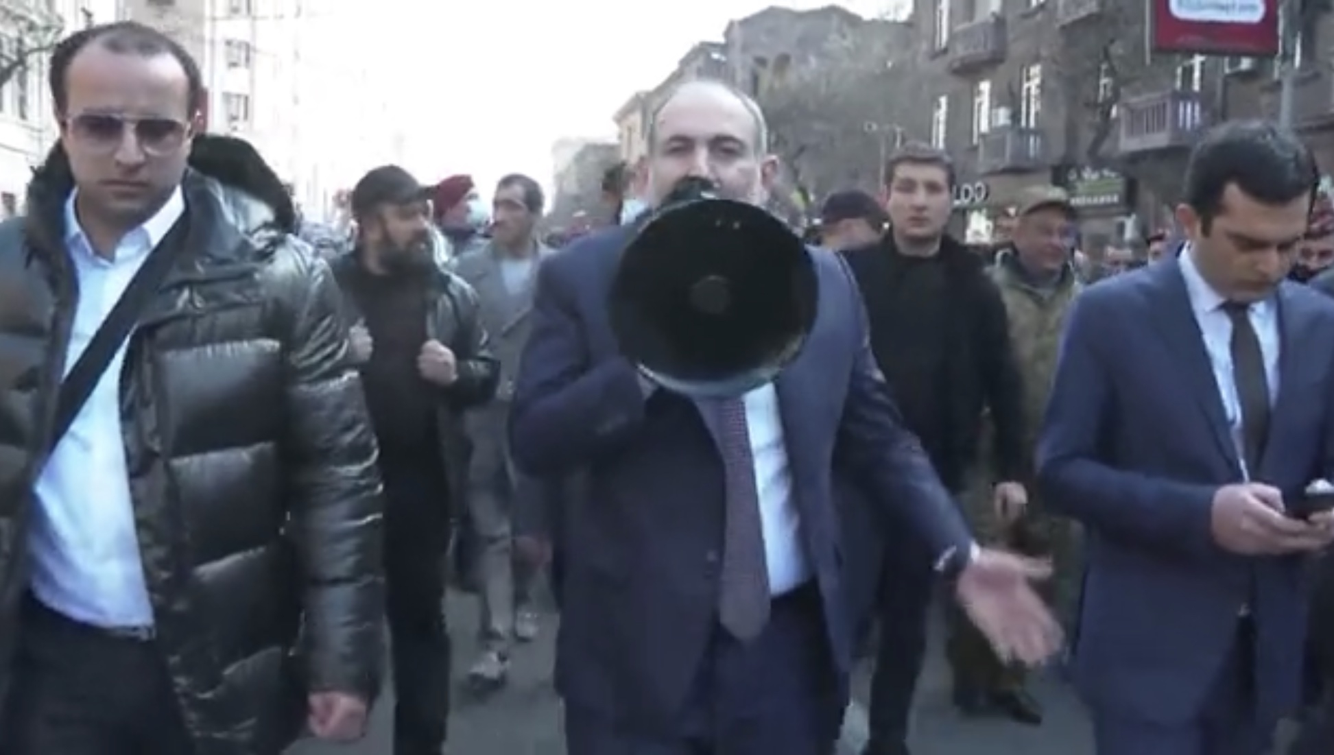 Pashinyan march