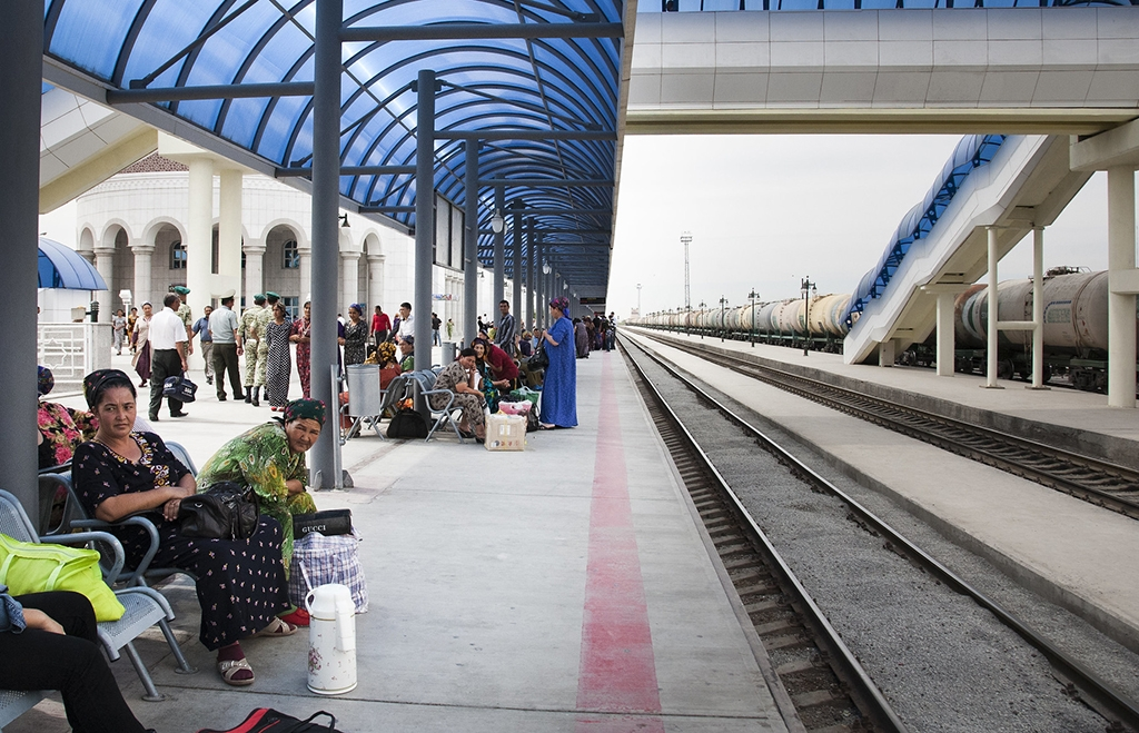 Limited train service has resumed after a year-long wait. (photo: ADB)