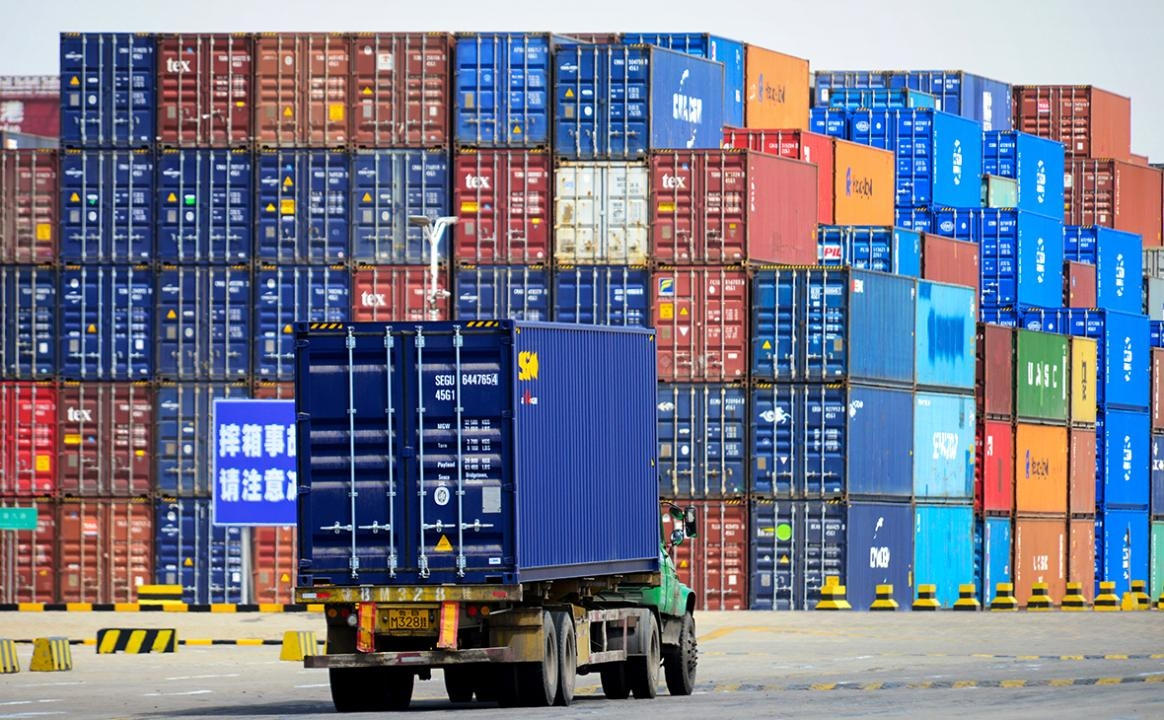 Cargo no-go: Trade with China is being adversely affected by COVID-19 controls. (Photo: Kazakhstan government website)