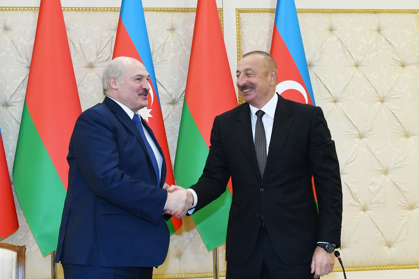 Lukashenko and Aliyev