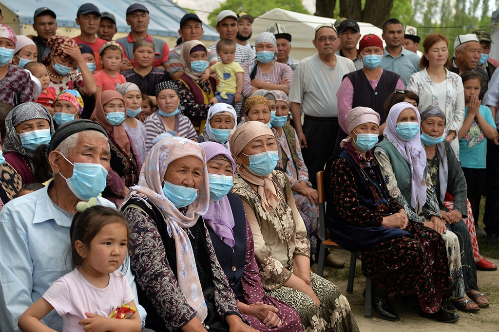 Kyrgyzstan waiting