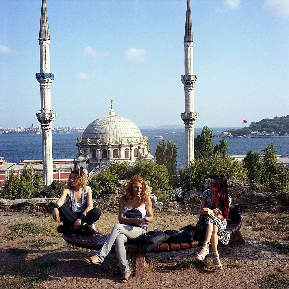 Yanki, Sechil and Helin all moved to Istanbul in 2007.