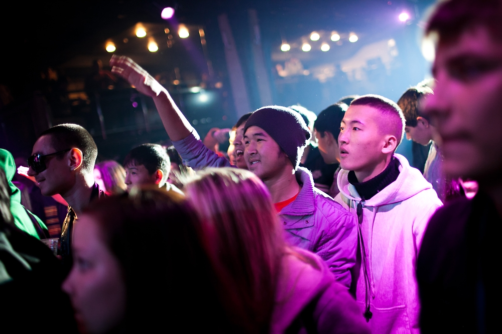"A small nightclub in central Bishkek recently hosted the city's first-ever ""Freestyle League"" competition."