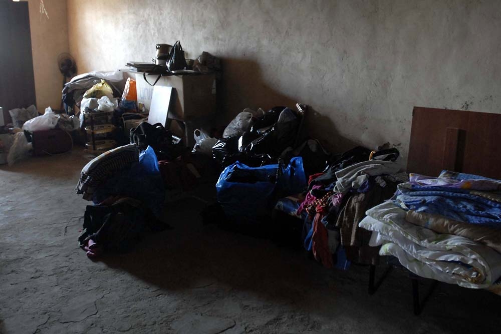 Some families say they arrived to empty, dark and cold houses, with no stoves or wood for heat.