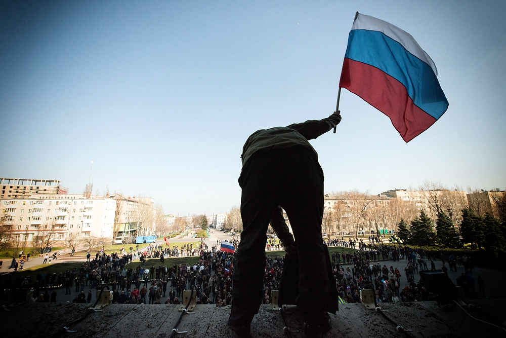 After taking over the building the pro-Russian activists called on Russia to provide troops as peacekeepers.