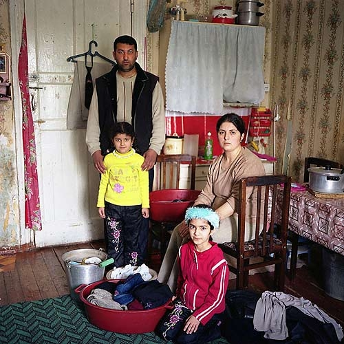 Yavar Mamedov and his family are refugees from the Zangilan region - now under the control of the Nagorno-Karabakh government.