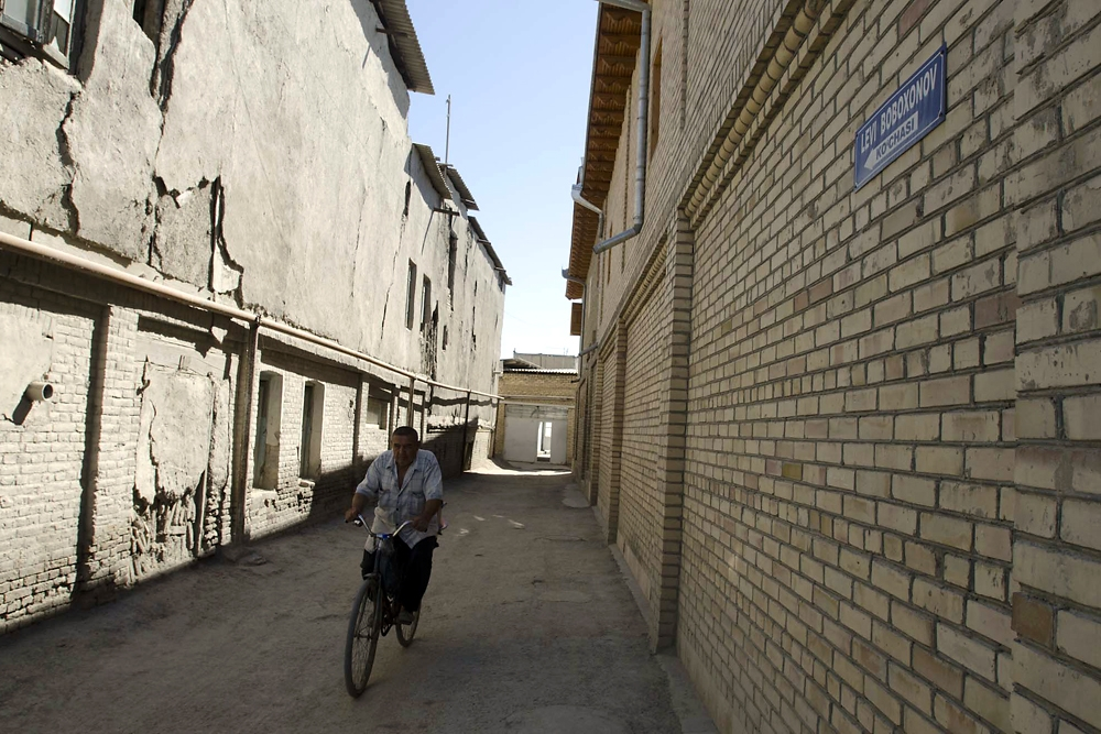 An alley in Bukhara's old town is named after Levi Babakhan, the legendary court vocalist of the last emir of Bukhara.