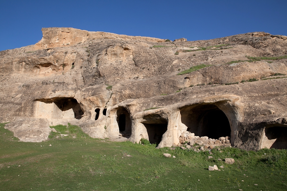 Local residents lived in the approximately 4,000 caves until they were relocated to Hasankeyf in the 1970s.