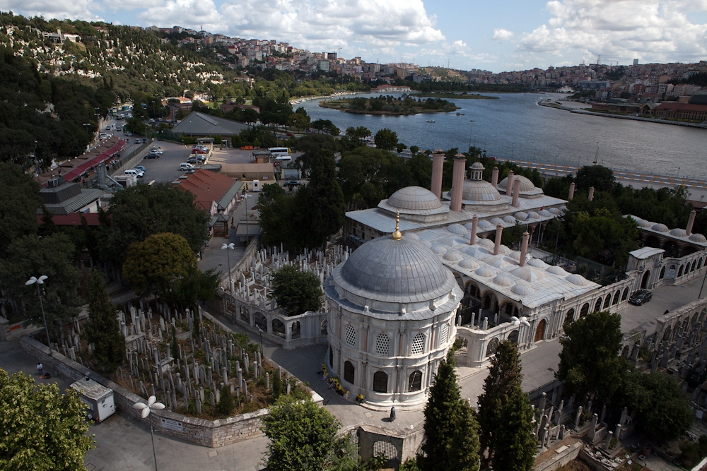 Constructed in the 13th century, the Eyup Mosque complex is one of the oldest in Istanbul.