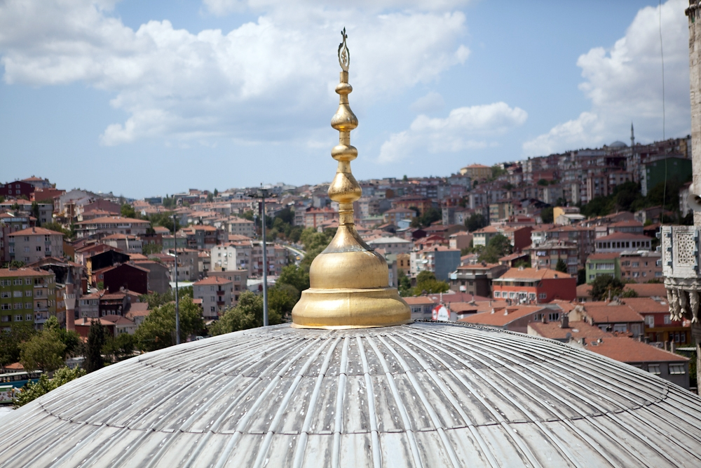 Eyüp Mosque holds the remains of one of the Prophet Mohammed's standard bearers.