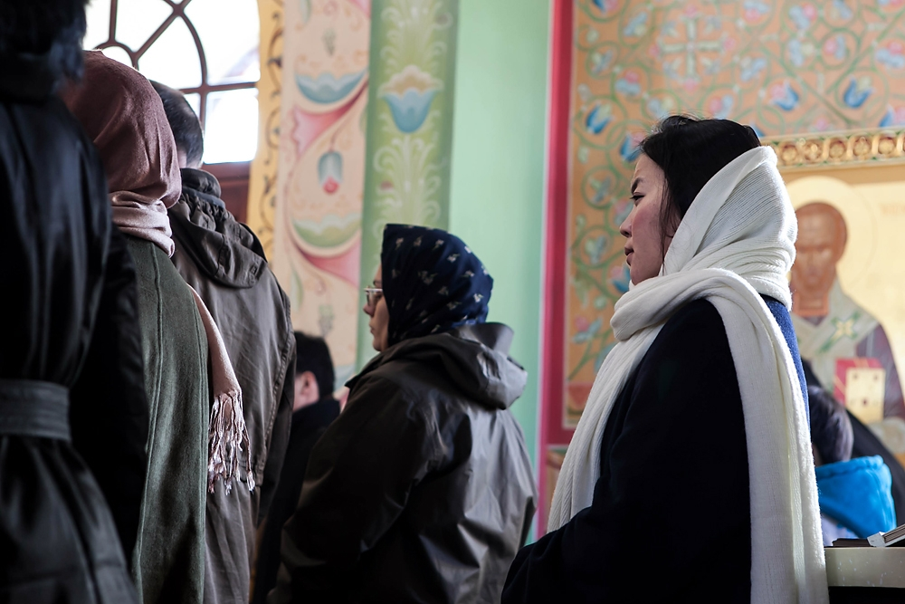 About 15 Mongolians form part of the 60-member strong orthodox church in Ulaanbaatar.